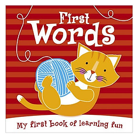 First Words: My First Book of Learning Fun