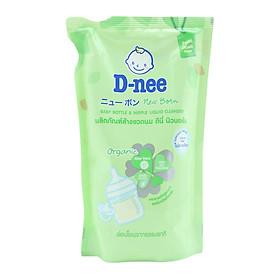 Nước rửa bình sữa D-nee Organic túi 600ml