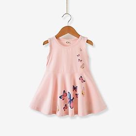 Váy Quần Áo Trẻ Em Hàn Quốc Mới Váy Bé Gái Váy Công Chúa Bướm Dành Cho Bé 1-5 Tuổi