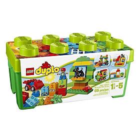 Bộ Lắp Ráp Thùng Gạch DUPLO Vui Nhộn LEGO CLASSIC 10572 (65 chi tiết)