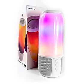 Loa bluetooth cầm tay nghe nhạc không dây GUTEK Pulse 3 hiệu ứng led nháy theo nhạc, âm thanh chân thực, bass siêu trầm ấm, hỗ trợ kết nối AUX 3.5mm, USB, thẻ nhớ TF, nhiều màu sắc - Hàng chính hãng
