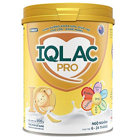 Sản Phẩm Dinh Dưỡng Công Thức Sữa Bột IQLac Pro Ngộ Nghĩnh (400g)