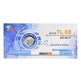Hộp 20 Bút Bi Thiên Long TL-08 - Xanh