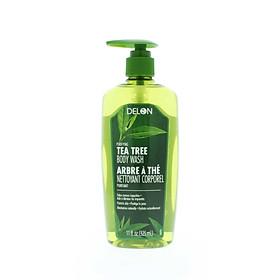 Sữa tắm DELON chiết xuất tinh dầu cây tràm trà dung tích 325ml - DELON Tea Tree Body Wash 325ml