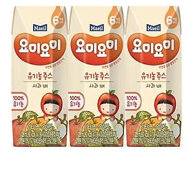 Combo 2 lốc nước ép trái cây hữu cơ 125ml nhập khẩu Hàn Quốc dành cho bé từ 6M (nhiều vị lựa chọn)