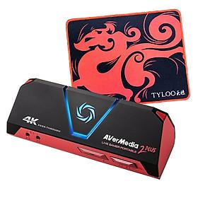 Thiết Bị Ghi Hình 4K Live Gamer Portable 2 Plus Avermedia GC513 Kèm Tấm Lót Chuột Cao Cấp AZONE  - Hàng Chính Hãng