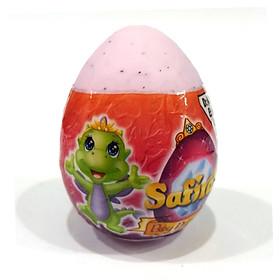 Safiras IV - Trứng Rồng Siêu Nhắng - Công Chúa Rồng Trong Trứng (4 cm) - Màu Hồng