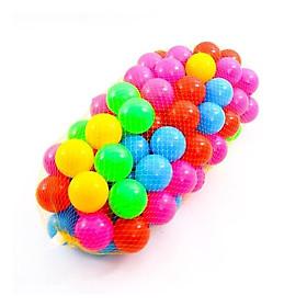 Túi 100 bóng vui chơi cho bé - nhiều màu