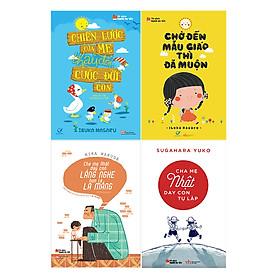 Combo Sách Cha Mẹ Nhật Nuôi Dạy Con (4 Cuốn)