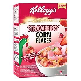 Ngũ Cốc Ăn Sáng Kellogg'S Corn Flakes Strawberry 180g