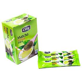 Cozy Trà Sữa Matcha 3 in 1 (Hộp 18 túi x 17g )