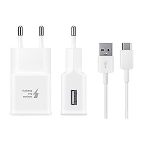 Bộ sạc nhanh Adapter Fast Charging  dành cho Samsung S10/ S10Plus và các máy dùng cáp USB - TypeC