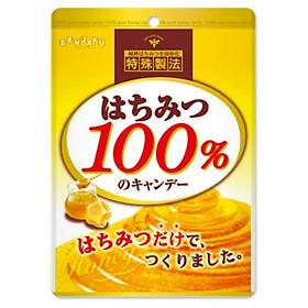 Bộ 3 gói kẹo Senjaku 100% mật ong nguyên chất 51g Nội địa Nhật Bản
