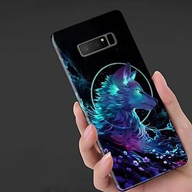 Hình đại diện sản phẩm Ốp Lưng Dành Cho Máy Samsung Note 8Ốp Mặt Kính Cường Lực Cao Cấp ( Kính Xịn Chuẩn 100%)Mẫu Sói Tuyết,Ốp Chính Hãng Công Ty,Chất Lượng Cao
