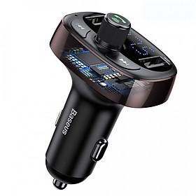 Tẩu sạc đa năng trên xe hơi Baseus S09 T-Typed Wireless MP3 Car Charger - Hàng chính hãng