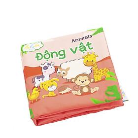 Sách vải song ngữ Lalala baby chủ đề Động vật