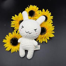 Gấu bông móc len Amigurumi cao cấp - Thỏ Cony Little đồ chơi thú nhồi bông - SP000320