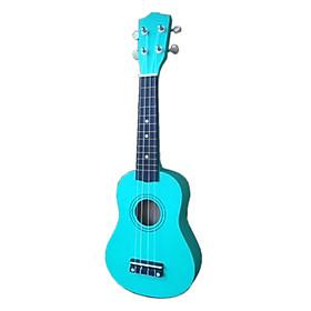 Đàn dễ tập màu xanh ngọc - ukulele size nhỏ dễ tập cho bạn từ 7 tuổi trở lên