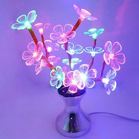 Đèn led trang trí cây mai mini
