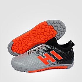 Giày Đá Bóng Trẻ Em Động Lực EBET 6300 (màu đen bạc)