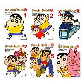 Combo Shin - Cậu Bé Bút Chì - Bản Đặt Biệt (6 Tập)