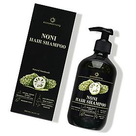 Dầu Gội Tinh Chất Trái Nhàu eccomorning Noni Hair Shampoo 500 ml