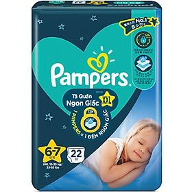 Tã quần Pampers ngủ ngon XXL22