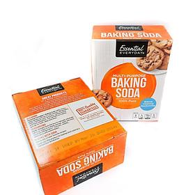 Combo Hộp Baking Soda đa năng hiệu Essential Everyday 454g và Lon Baking Soda đa năng hiểu Essential Everyday 340g