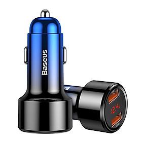 Bộ tẩu sạc nhanh đa năng dùng cho xe hơi Baseus Magic Series Quick Charge (45W, LED Display, PD/ QC 3.0/ PPS/ SCP/ AFC, Quick Charger ) - Hàng Chính Hãng