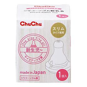 Núm Ti Silicone Chuchu Baby 1Pc (Box Type)