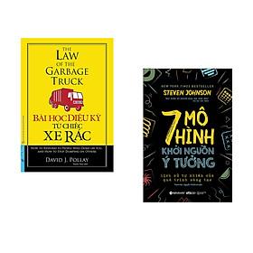 Combo 2 cuốn sách: Bài Học Diệu Kỳ Từ Chiếc Xe Rác (Khổ lớn) + 7 Mô hình khởi nguồn ý tưởng