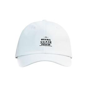 Nón Ballcap Hàn Quốc Carelabel PREMIER P907 - Trắng