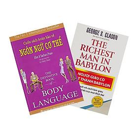 Combo Cuốn Sách Hoàn Hảo Về Ngôn Ngữ Cơ Thể - Body Language + Người Giàu Có Nhất Thành Babylon (Tái Bản) (2 cuốn)