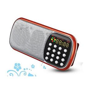 Đài FM, nghe nhạc thẻ nhớ, USB có màn hình LED UN-35