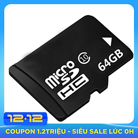 Thẻ Nhớ Micro SD 64GB (TF) Class10 Tốc Độ Cao
