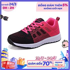 Giày Sneaker Thể Thao Nữ YAMET YM11721HD Đen Phối Hồng