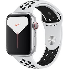 Đồng Hồ Thông Minh Apple Watch Nike+ Series 5 LTE GPS + Cellular Aluminum Case With Nike Sport Band (Viền Nhôm & Dây Nike) - Hàng Chính Hãng VN/A