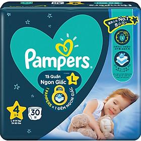 Tã quần Pampers ngủ ngon L30