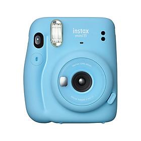 Fujifilm instax mini 11 Instant Camera Film Cam Auto Exposure Control Selfie Mode with Batteries Wrist Strap Birthday