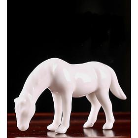 Tượng Ngựa Trắng Bạch Mã