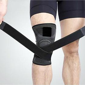 Băng đai bảo vệ giảm áp lực lên xương đầu gối khi tập Gym AK_24-0