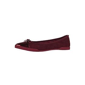 Giày Búp Bê Đế Bệt HARPER RUBY RED QUILT Butterfly Twists BT25-006-093 - Đỏ