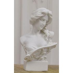Tượng Cầm nữ Hy Lạp 15cm