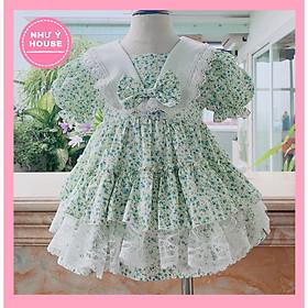 Váy đầm công chúa cho bé [Tặng Turban] Hàng thiết kế của Như Ý House
