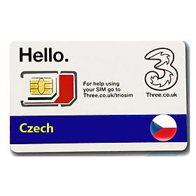Sim du lịch Cộng hòa Séc - Czech 4g tốc độ cao