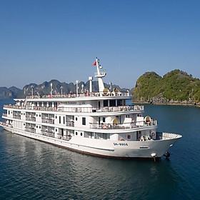 [Voucher Nghỉ Dưỡng 2N1Đ] Du Thuyền 5 Sao Paradise Elegance, Hạng Phòng Deluxe Balcony