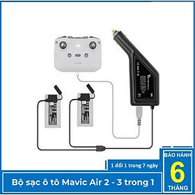 Bộ sạc ô tô Mavic Air 2 sạc pin thông minh 3 trong 1 - Hàng chính hãng YXtech