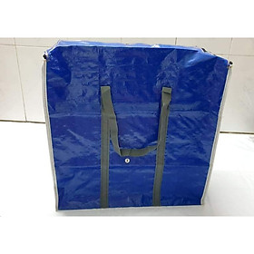 Túi bạt đựng quần áo và hàng hóa nhiều size lựa chọn.