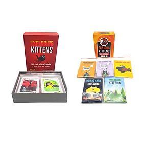 Combo mèo nổ Exploding Kittens + 5 bản mở rộng bản Đẹp