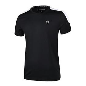Áo Tennis Nam Dunlop - DATES9055-1 Thoáng khí co giãn thoát mồ hôi tốt phù hợp vận động thể thao chơi cầu lông tennis